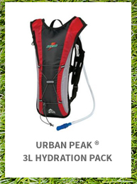 Urban Peak 3L Hydration Pack