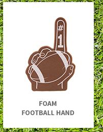 Foam Football Hand