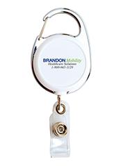 Retractable Carabiner Badge Reel
