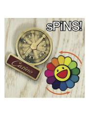 sPiNS Interactive Lapel Pin