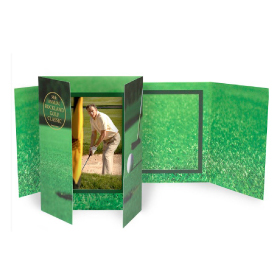 Golf Gatefold Event Folder