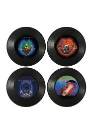 Mini Record Coasters