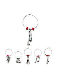 Music-Themed Charms