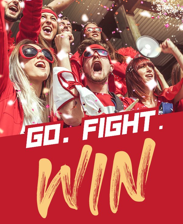 Go. Fight. Win.