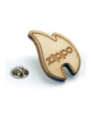 Custom Shape Wood Lapel Pin