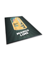 Point-of-Purchase Logo Mat