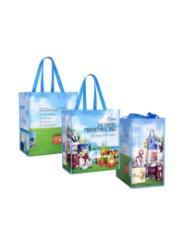 Custom Full-Color Laminated Tote Bag