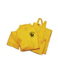 3-Piece Yellow Rain Suit