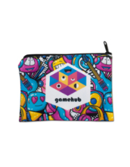 Sublimated Zippered Pouch